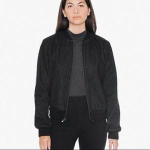 AA Black Denim Jacket